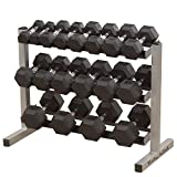 Body Solid  mancuerna Rack, 3 Niveles