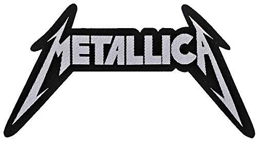 Unbekannt Metallica Aufnäher - Metallica Logo Cut Out - Metallica Patch - Gewebt & Lizenziert !!