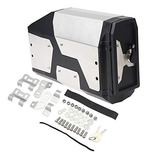 cassetta attrezzi alluminio GIDIBII Cassetta degli attrezzi per moto sinistra