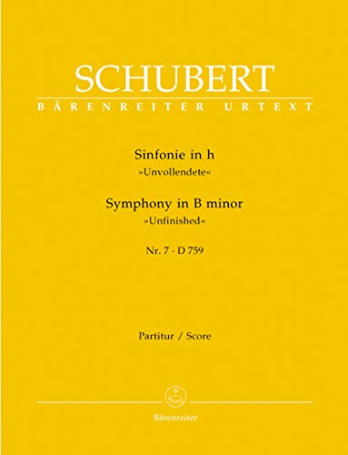 Sinfonie 7 (8) H-Moll d 759