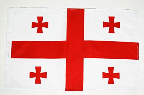 AZ FLAG Flagge GEORGIEN 45x30cm - GEORGISCHE Fahne 30 x 45 cm - flaggen