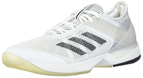 adidas womens adizero ubersonic 3, white/core black/white, 11.5 M US