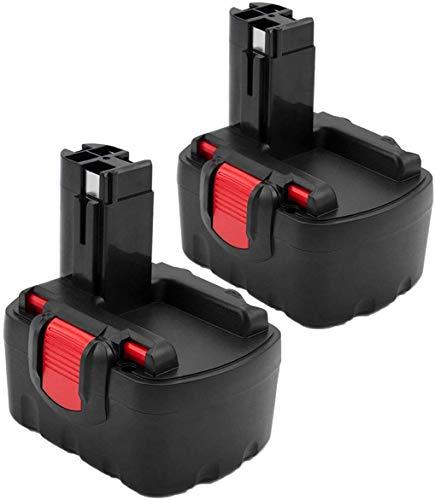 2X 3.0Ah Ni-Mh Sostitutiva per Bosch 14.4V Batteria BAT038 BAT040 BAT041 BAT159 13614 13614-2G 15614 1661 22614 32614 3454 34614