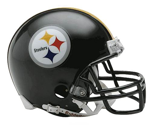 NFL Pittsburgh Steelers Replica Mini Football Helmet