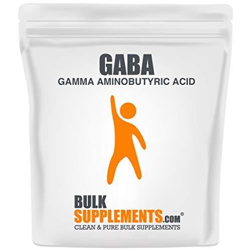 BulkSupplements.com (GABA) Gamma Aminobutyric Acid Powder - Sleep Supplement - Focus Aid - GABA Supplements - Sleep Powder (500 Grams - 1.1 lbs)