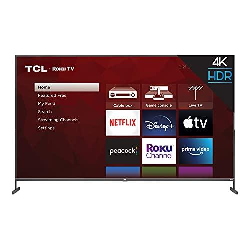 TCL 85-inch Class 4-Series 4K UHD HDR Smart Roku TV - 85S435, 2021 Model