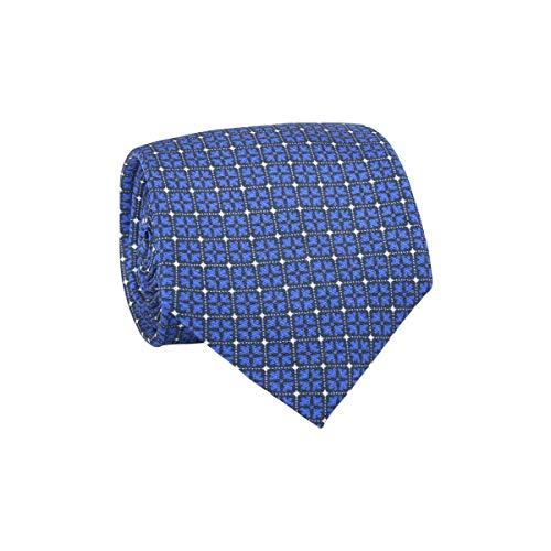 TIE RACK - Cravate 100% Soie Fleurs Carré