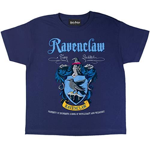 Harry Potter Cresta de Ravenclaw Camiseta de los Muchachos | mercancía Oficial 13