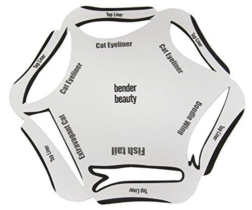 6�en 1�Eyeliner Pochoir Cosm�tique Guide de gabarit rapide Cat Maquillage Smoky Outil