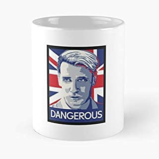 Milo Yiannopoulos Trump Ceramic Coffee Mugs, Funny Gift