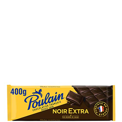 Poulain Tablette de Chocolat Noir Extra, 400g
