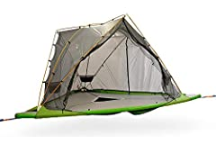 World's first 3 element tent, For Air, Ground and Water! It can be pitched in the air, on the ground or even float on water. Fits 3 adults in the trees and 5 on the ground. The Universe is spacious, easy to use, durable and everything you need comes ...