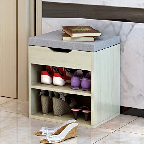 Mobiliario sencillo - Zapato Gabinete moderna simple Inicio zapato Banco consola Gabinete de almacenamiento práctico de diseño de la comodidad respirable tamaño de la carga de 80 kg: Longitud 40cm * 3