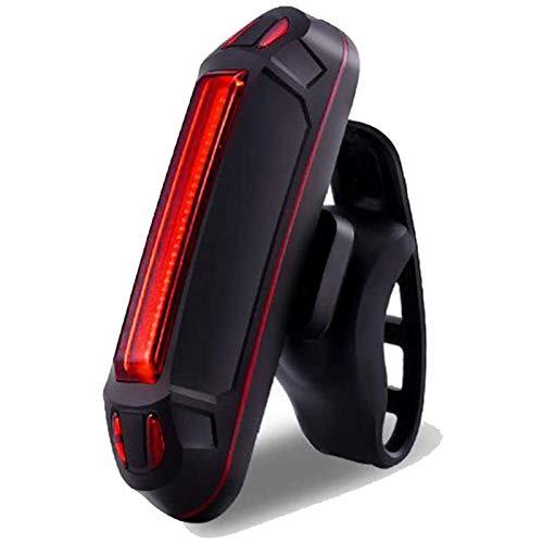 Luz LED de control inalámbrica para bicicleta de montaña, luz trasera USB, luz trasera LED, luz de advertencia de seguridad, para exteriores, recargable