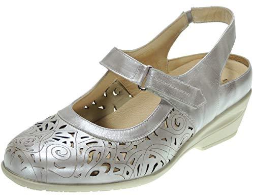 Coper 107438 Zapato Ancho Especial con Planta Extraible y Cierre de Velcro...