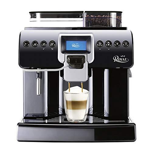 Saeco Royal One Touch Cappuccino Kaffeevollautomat schwarz (Gewerbezulassung, 15bar, 1400 Watt)