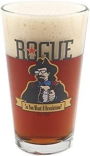 Rogue Ales Revolution Pint Glass - 16 oz