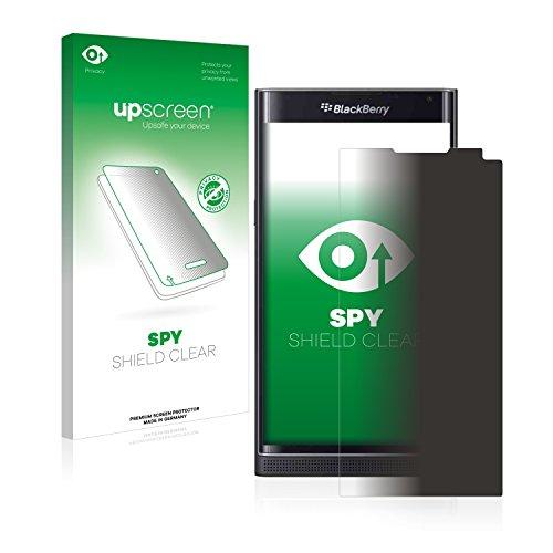 upscreen Anti-Spy Blickschutzfolie kompatibel mit BlackBerry Priv Privacy Screen Sichtschutz Bildschirmschutz-Folie