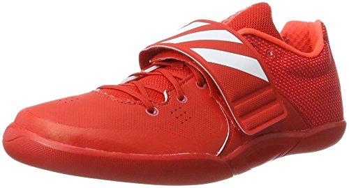 adidas adidas Unisex-Erwachsene Adizero Discus/Hammer Throw Leichtathletikschuhe, Rot (Red/FTW White/Solar Red), 48 EU