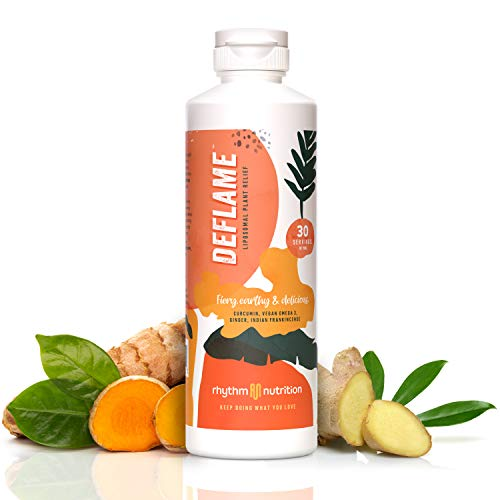 DEFLAME for Muscle and Joint Relief   Natural Anti Inflammatory & Antioxidant Supplement   Liquid &...