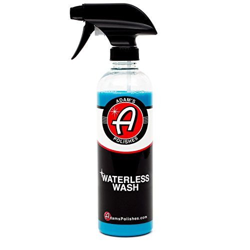 Adam's Waterless Car Wash 16oz - Made With Advanced Emulsifiers and Special Lubricants - Eco-Friendly Waterless Car Washing With No Hoses, No Water, No Messes