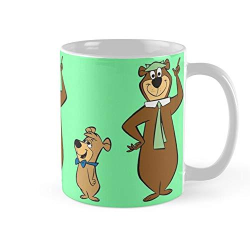 Yogi Bear Coffee Mug 11oz Ceramic Tea Cups