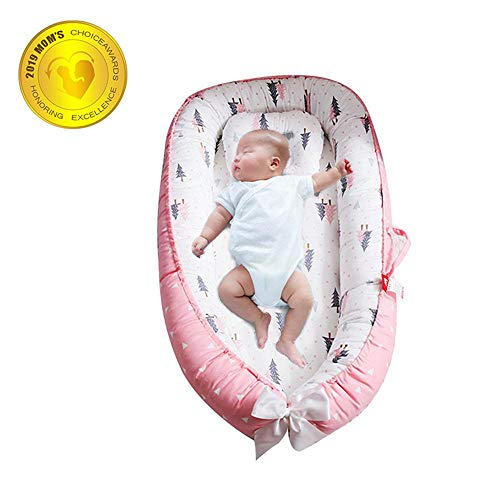 Fantastic Deal! FOONEE Baby Lounger Nest Portable Crib and Bassinet Perfect for Co Sleeping,Super So...
