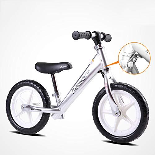 AMYDREAMSTORE Kinder Kinder laufrad Für 18 Monate bis 6 Jahre Alter, Kinder Balance-Fahrrad Baby Scooter Kind Kleinkind Zu fu? Fahrrad schieben Ohne Pedal-F 50x85cm(20x33inch)