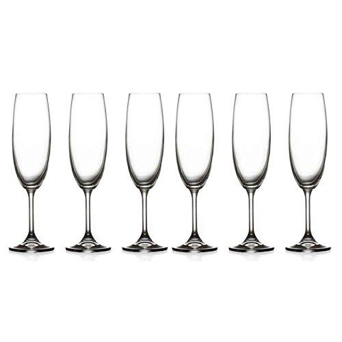 Secret de Gourmet - Lot de 6 Flûtes à Champagne\