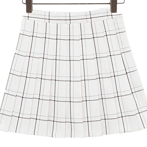Las Mujeres De Verano Plisado Falda Chic Mini Una Línea De Cintura Alta De Las Señoras Faldas Lindo Estilo De La Escuela De Las Niñas Falda De Moda Femen