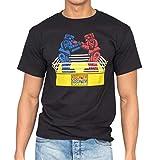 Rock 'Em Sock 'Em Robots Sheldon Adult Black T-Shirt...