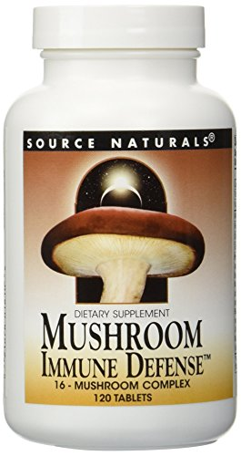 Mushroom Immune Defense Source Naturals, Inc. 120 Tabs