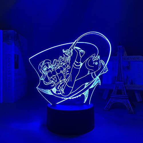 Revue Star Claudine Anime Light 3D Revue Star Claudine - Lámpara de escritorio para niños