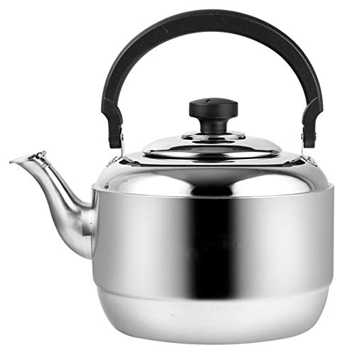 Teapot|tea pots for stove top|tea kettle|304 stainless steel thick kettle | whistling tea kettle |...