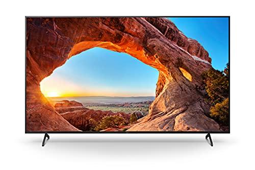 Sony KD-85X85J/P BRAVIA 216 cm (85 Zoll) Fernseher ( Android TV, 4K Ultra HD (UHD), High Dynamic Range (HDR), Google TV, Smart TV, 2021 Modell), Schwarz