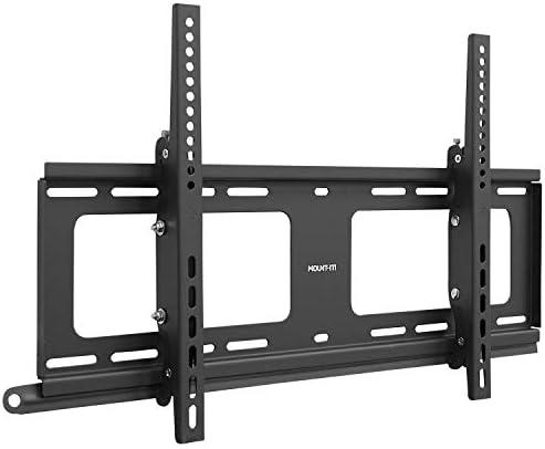 Mount It Weatherproof Outdoor TV Wall Mount Lockable Tilting 2 1 Low Profile Design Fits 37 product image