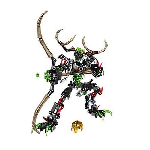 XSZ 611-3 Biochemical Warrior BionicleMask of Light Bionicle Umarak Hunter Building Block Compatible Bionicle 71310 Toys Without Original Box