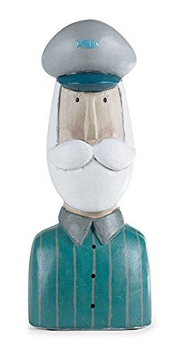 baden import Statuette décorative Tête de capitaine Buste de capitaine