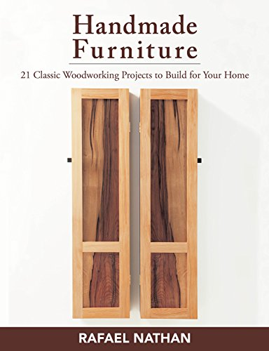 Handmade Furniture: 21 Classic Woodworking Projects to Build for Your Home (English Edition)