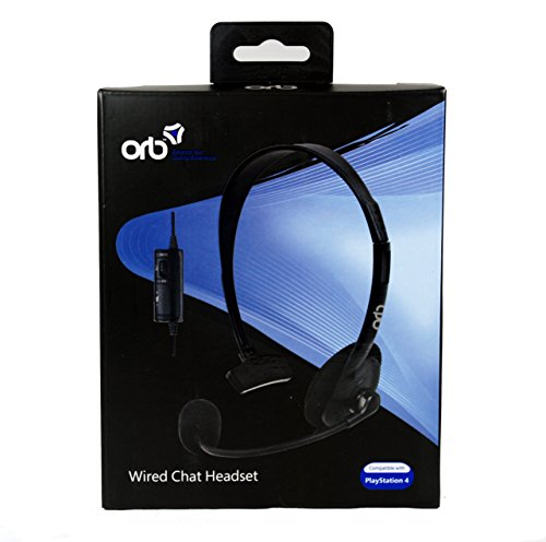 ORB Wired Chat Headset (Sony PS4) [Import UK]