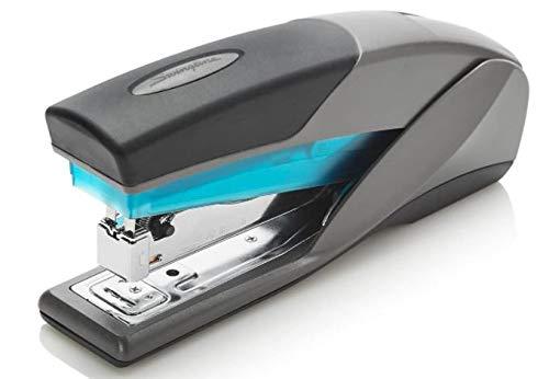 Swingline Stapler, Optima 25, Full Size Desktop Stapler, 25 Sheet Capacity, Reduced Effort, Blue/Gray (66404), SWI66404 - 1 Pack