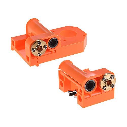 Aibecy - Piezas de impresora 3D con eje en X, piezas de moldeo por inyección de plástico, tornillos M8 para A8/P802
