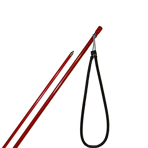 JCS 6 Foot Fiberglass Pole Spear with 12inch...