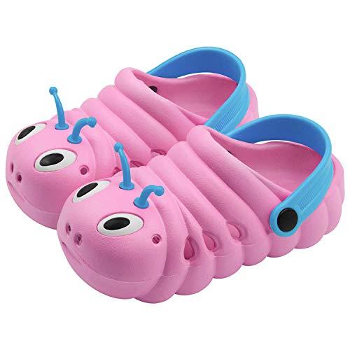 Zoccoli e Sabot Scarpe Sandali Unisex Bambini per Ragazzi Ragazze Spiaggia Antiscivolo Ciabatte Pantofole Scarpette Mare Estate 18-29