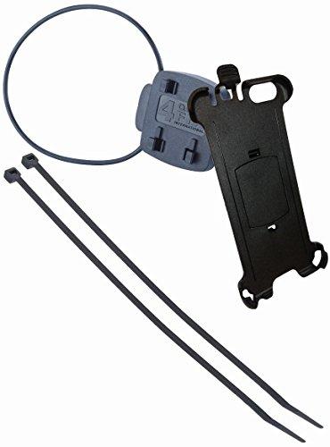 TAHUNA Phone Schut Vélo ZCASE (Taille L) pour Les Smartphones de la poussière & protégé de l'Eau, Noir, Universel, Mixte, Phone Fahrradhalterung (Samsung Galaxy S7), Noir