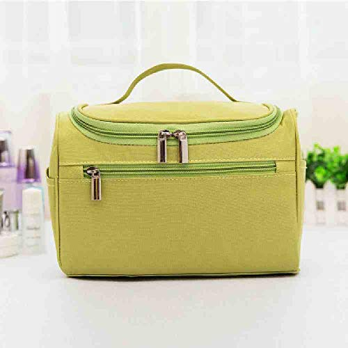 OYHBGK Nouveau Oxford Organisateur De Voyage Cosmétique Sac pour Les Femmes Nécessaires Make Up Case Wash Trousse De Toilette Imperméable Hommes Suspendus Trousse De Maquillage
