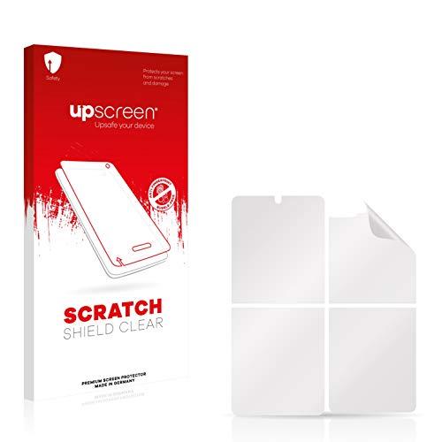 upscreen Protector Pantalla Compatible con Samsung Galaxy Z Flip 5G (Frontal + Trasera) Película Protectora – Transparente, Anti-Huellas