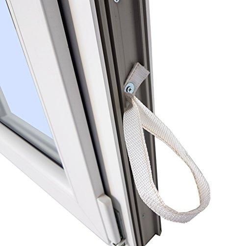 Finestra PVC praticabile Oscilobatiente A sinistra 500 larghezza x 700 alta 1 foglio con vetro Cargl