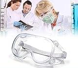 Gafas Protectoras Virus, Lentes de Seguridad Antivaho Prueba de Rayos UV Prueba de Impacto Arena a Prueba de Viento para Laboratorio Agricultura Industria