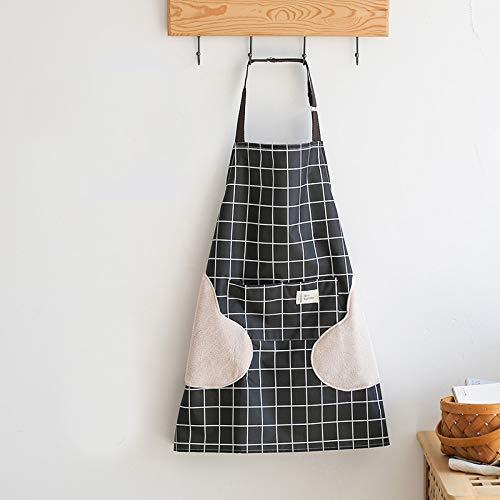YXDZ Küchen-Haushalts-Schutzblech-Moderne Taillen-Kochen Kochen, Erwachsene Blusen Kochend